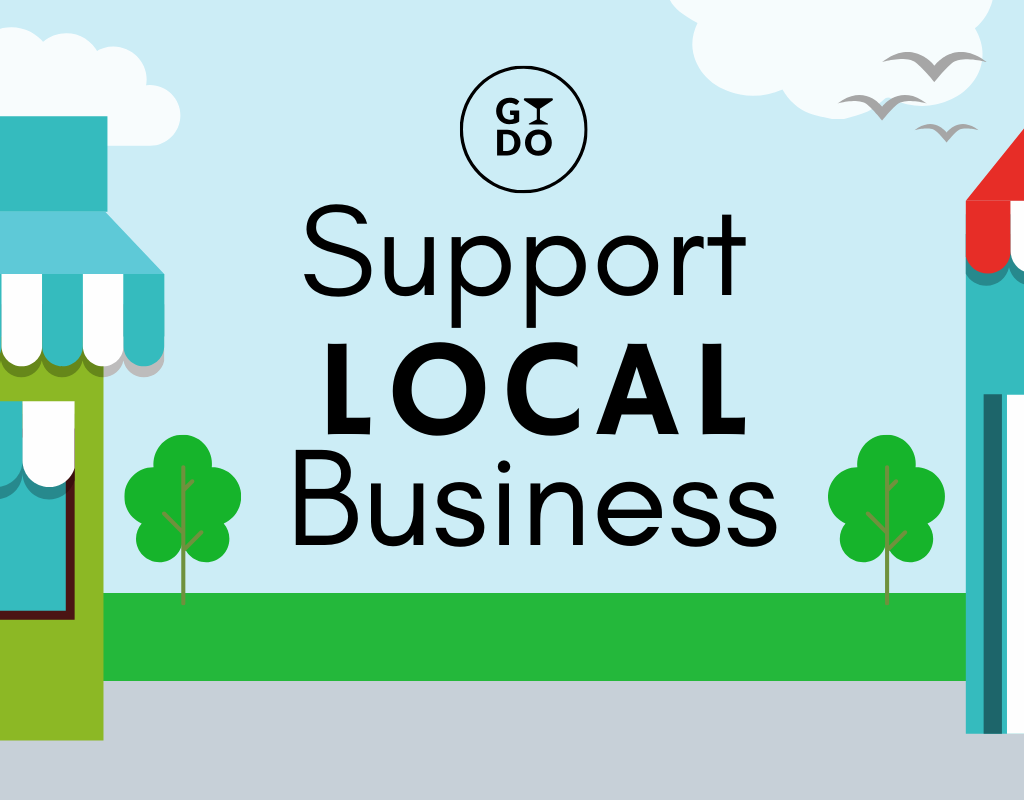 support local business GYDO logo